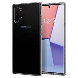 SPIGEN Liquid Crystal Galaxy Note 10+ PLUS KRISTÁLYTISZTA tok telefon tok hátlap
