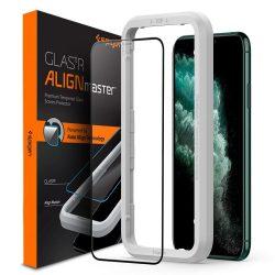 Edzett üveg SPIGEN ALM GLAS FC IPHONE PRO 11kijelzőfólia üvegfólia tempered glass