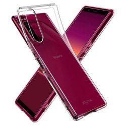 Spigen folyadékkristályos Sony Xperia 5 Crystal Clear