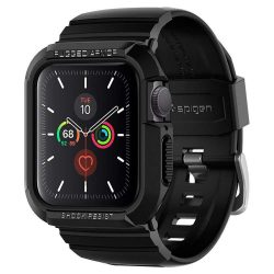 "SPIGEN RUGGED páncél ""PRO"" Apple Watch 4/5 (40MM) FEKETE"