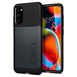 Spigen Slim Armor Samsung Galaxy S20 Metal Slate telefontok