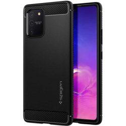 Spigen Robusztus Armor Samsung Galaxy S10 Lite matt fekete