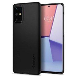 Spigen Vékony Fit Samsung Galaxy S20 + Plus Fekete telefontok