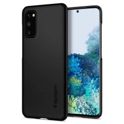Spigen Vékony Fit Samsung Galaxy S20 Fekete telefontok