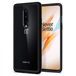 Spigen Ultra hybrid OnePlus 8 Black telefontok