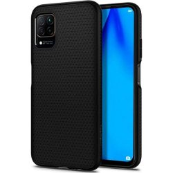 Spigen Liquid Air Huawei P40 Lite matt fekete telefontok