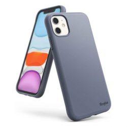 Ringke Air ultra-vékony tok Gel TPU tok iPhone 11 kék (levendula szürke) (ADAP0012) telefontok hátlap tok