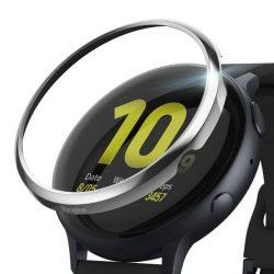 Ringke visszahelyezése hajformázó okosóra tok keret borítékot gyűrű Samsung Galaxy Watch Active 2 40 mm-es ezüst (RGSG0045) okosóra tok tok