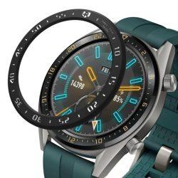 Ringke visszahelyezése hajformázó telefontok keret borítékot gyűrű Huawei Watch GT fekete (RGHW0001) telefontok hátlap tok
