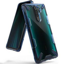 Fusion X Ringke tartós PC tok TPU Bumper Xiaomi redmi Note 8 Pro kék (FXXI0012) telefon tok telefontok (hátlap)