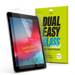 Ringke Dual Easy bevont üveg flex edzett üveg tempered glass tempered glass tempered glass 9H képernyő védő iPad 9.7 '' 2018 / iPad 9.7 '' 2017 / iPad Air 2 / iPad Air (DCAP0004)