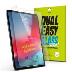 Ringke Dual Easy bevont üveg flex edzett üveg tempered glass tempered glass tempered glass 9H képernyő védő iPad Pro 12.9 '' 2018 (DCAP0003)