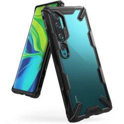 Ringke Fusion X tartós PC Tok TPU Bumper Xiaomi Mi Note 10 / Mi Note 10 Pro / Mi CC9 Pro fekete (FXXI0013) telefontok hátlap tok