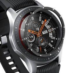 Ringke Belső visszahelyezése hajformázó telefontok keret borítékot gyűrű Samsung Galaxy Watch 46mm / Előtét S3 fekete (RGSG0056) telefontok hátlap tok