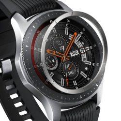 Ringke visszahelyezése hajformázó telefontok keret borítékot gyűrű Samsung Galaxy Watch 46mm / Előtét S3 ezüst (RGSG0057) telefontok tok