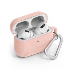 Ringke AirPods tok erős védőtok fólia AirPods Pro rózsaszín (ACEC0014) telefontok hátlap tok