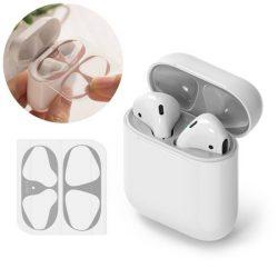 Ringke porvédő matrica Apple AirPods 2 / AirPods 1 töltőegység (2 db-os szett) ezüst (ACER0001)