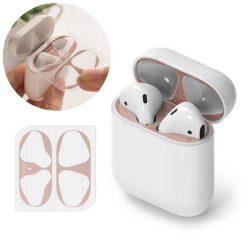 Ringke porvédő matrica Apple AirPods 2 / AirPods 1 töltőegység (2 db-os szett) pink (ACER0003)