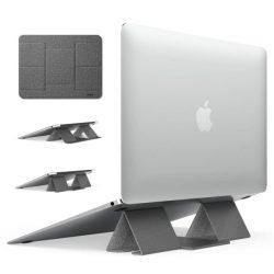 Ringke Összecsukható állvány 2 Összecsukható hordozható tartó Laptop Notebook szürke (ACST0011)