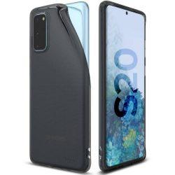 Ringke Air Ultra-Thin tok Gel TPU tok Samsung Galaxy S20 fekete (ARSG0024) telefontok hátlap tok