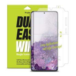 Ringke Dual Easy Wing 2x önálló portalanító képernyő védő Samsung Galaxy S20 Plus (DWSG0004) kijelzőfólia telefonfólia