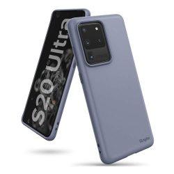 Ringke Air ultra-vékony Cover Gel TPU tok Samsung Galaxy S20 Ultra lila (ADSG0016)