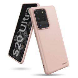 Ringke Air ultra-vékony Cover Gel TPU tok Samsung Galaxy S20 Ultra pink (ADSG0017)
