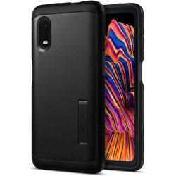 Spigen Kemény páncél Samsung Galaxy Xcover Pro Black telefontok