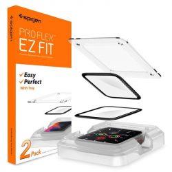 "Szkło Hybrydowe Spigen Proflex ""EZ Fit"" Apple Watch 4/5 (40mm) üvegfólia"
