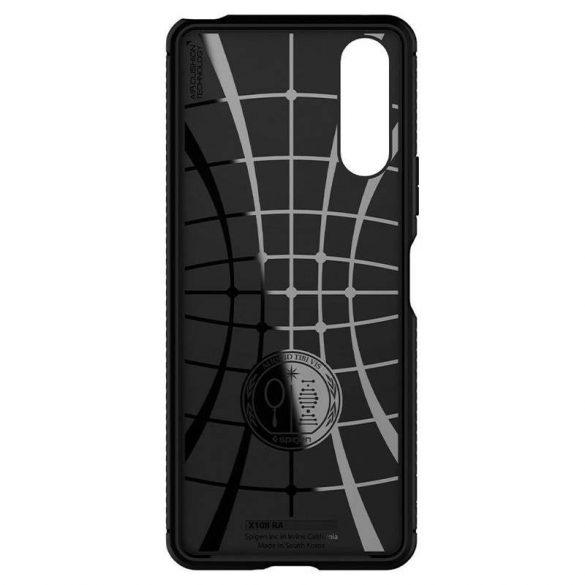 Spigen Robusztus Armor Sony Xperia 10 Ii matt fekete telefontok
