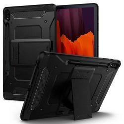 Spigen Kemény páncél Pro Galaxy Tab S7 + Plus 12.4 T970 / T976 fekete telefontok