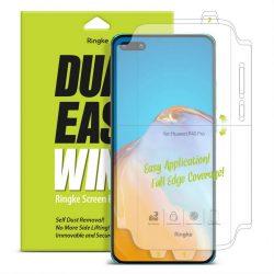 Ringke Dual Easy Wing 2x önálló portalanító képernyő védő Huawei P40 (DWHW0002) telefon védőfólia