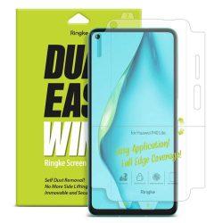 Ringke Dual Easy Wing 2x önálló portalanító képernyő védő Huawei P40 Lite (DWHW0004) kijelzőfólia telefonfólia