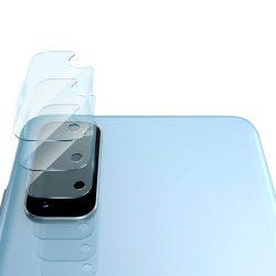 Ringke Invisible Defender 3 db 0,25 mm-es kamera edzett üveg Samsung Galaxy S20 (IGSG0016)