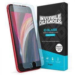 Ringke Láthatatlan Defender ID üveg edzett üveg tempered glass 2,5D 0,33 mm iPhone SE 2020 / iPhone 8 / iPhone 7 (IGAP0012) üvegfólia