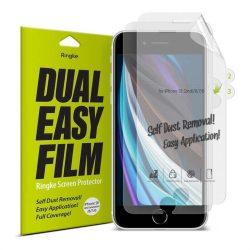 Ringke Dual Easy Film 2x önálló portalanító képernyővédő fólia iPhone SE 2020 / iPhone 8 / iPhone 7 (ESAP0005) telefon védőfólia