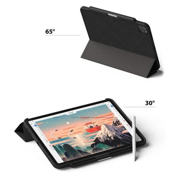 """Ringke smart tok tablet telefontok több szögben állvány és a Smart Elalvás funkció iPad Pro 12.9 """""""" 2020 fekete (PDAP0009) telefontok"""
