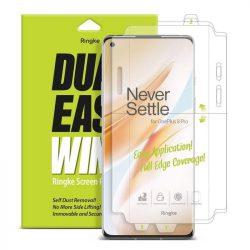 Ringke Dual Easy Wing 2x önálló portalanító képernyő védő OnePlus 8 Pro (DWOP0002) telefon védőfólia