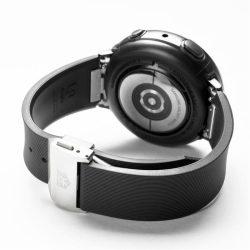 Ringke szilikon Egy Prime csere zenekar szíj Samsung Galaxy Active 2 44 mm fekete (MOSG0005) telefontok