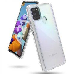 Ringke Fusion PC Tok TPU Bumper Samsung Galaxy A21S átlátszó (FSSG0084) telefontok