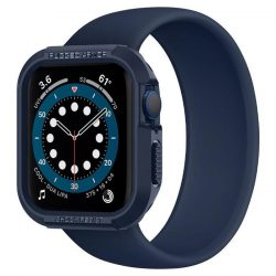 Spigen Rugged Armor Apple Watch 4/5/6 / Se (44mm) Navy Blue védőtok