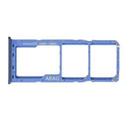 Sim Kártya Tartó Samsung Galaxy A217 A21s Kék Gh98-45392c [Eredeti]