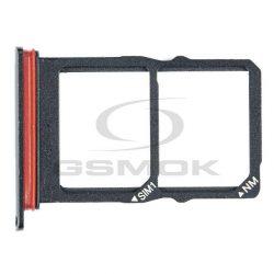 Sim Kártya Tartó Huawei P30 Fekete