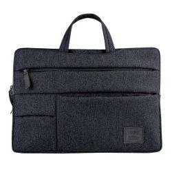 """UNIQ Cavalier táska laptop hüvely 15 """"fekete / szénfekete"""