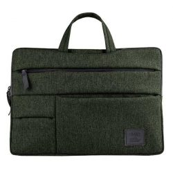 """UNIQ Cavalier táska laptop hüvely 15 """"zöld / khaki zöld"""