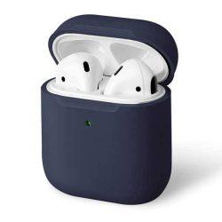 UNIQ telefontok Lino AirPods 1,2 gen. Szilikon kék / indigókék telefontok hátlap tok