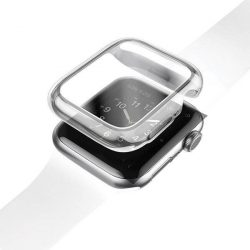 UNIQ telefontok Garde Apple Watch sorozat 5/4 40MM átlátszó / átlátszó telefontok hátlap tok