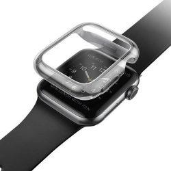 UNIQ telefontok Garde Apple Watch sorozat 5/4 40MM szürke / füstölt szürke telefontok hátlap tok