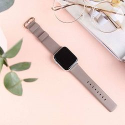 UNIQ bar Mondain Apple Watch Series 4 44MM valódi bőr bézs / homokszínű