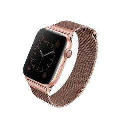 UNIQ bár Dante Apple Watch 44MM Series 4 rozsdamentes acél devel-arany / vörös arany